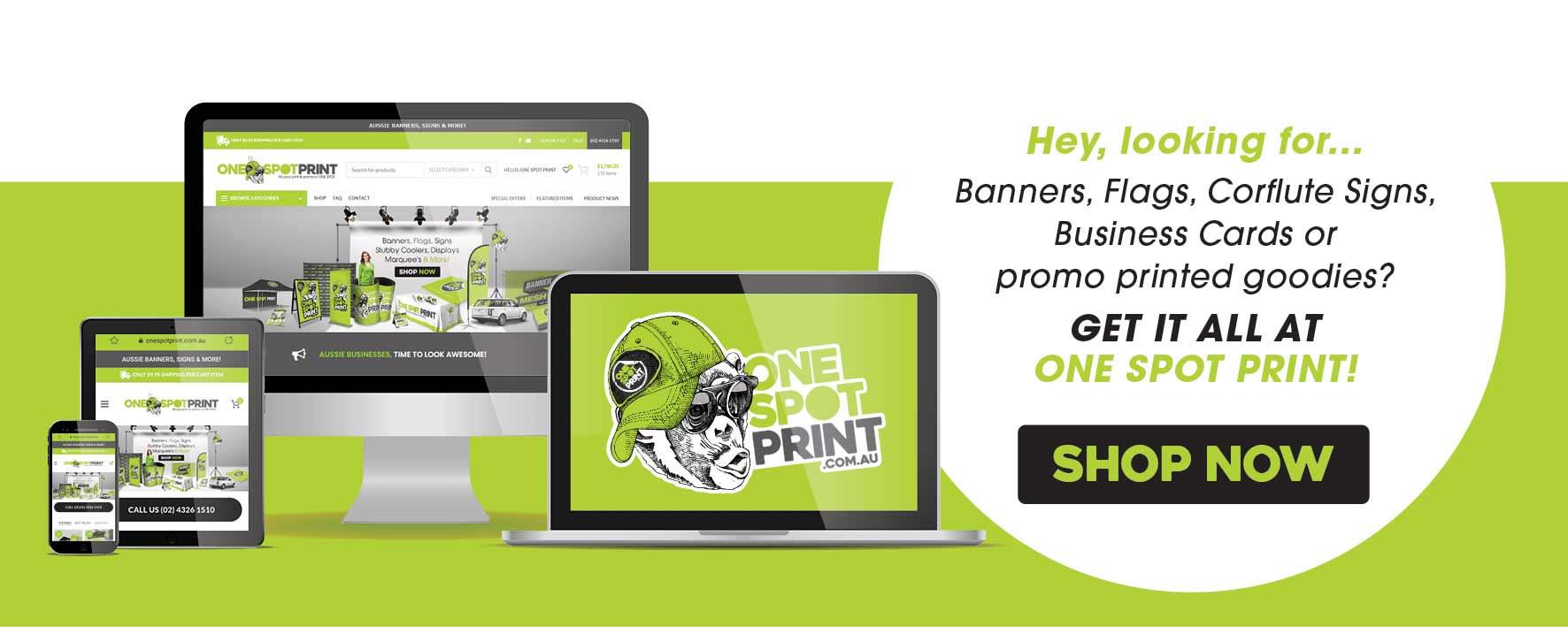 One Spot Print online