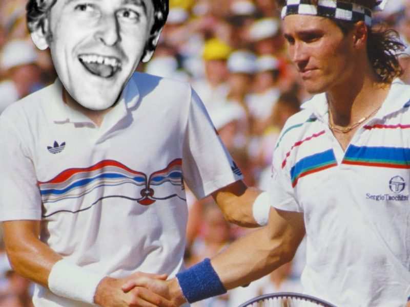 Pat Cash tennis stubby