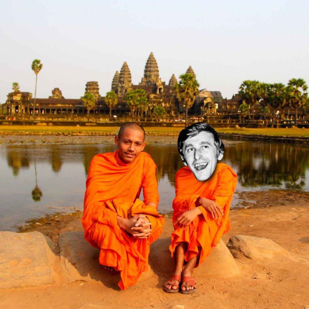 Don Stubbs in Cambodia